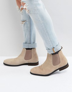 Бежевые замшевые ботинки челси Call It Spring Andler - Бежевый