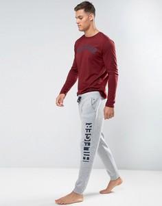 Серые джоггеры с логотипом Tommy Hilfiger - Серый