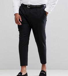 Зауженные плиссированные брюки Noose & Monkey PLUS - Черный