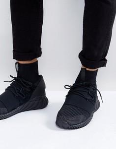 Черные кроссовки adidas Originals Tubular Doom Primeknit DA9023 - Черный