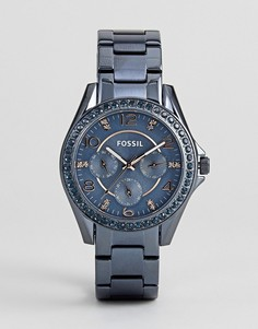 Часы Fossil ES4294 Riley - Синий