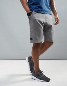 Флисовые спортивные шорты Dissident - Серый