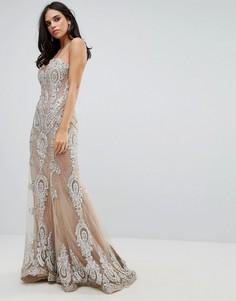 Платье макси Forever Unique - Золотой