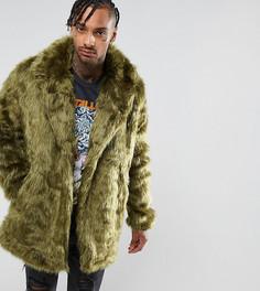 Куртка из искусственного меха The New County - Зеленый