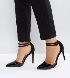 Остроносые туфли на каблуке ASOS PRIMROSE - Черный