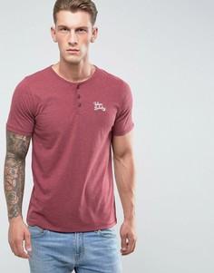 Меланжевая футболка Tokyo Laundry - Красный