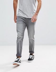 Серые зауженные джинсы Hoxton Denim - Серый