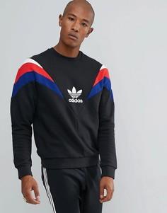 Черный свитшот с круглым вырезом adidas Originals St Petersburg Pack Neva BS2204 - Черный
