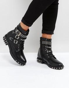 Ботинки с заклепками Park Lane - Черный