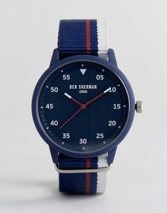 Темно-синие часы Ben Sherman WB076U - Темно-синий