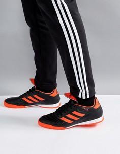 Черные футбольные бутсы для игры в зале adidas Copa Tango 17.3 S77148 - Черный