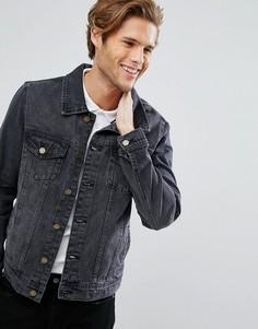 Черная джинсовая куртка LDN DNM - Черный