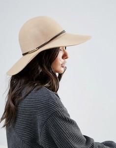 Шерстяная оверсайз-шляпа Only - Бежевый