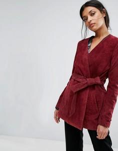 Замшевая куртка Gestuz Odelia - Красный