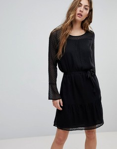 Платье из сетчатой ткани Blend She - Черный
