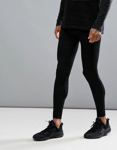 Черные леггинсы Craft Sportswear Active Intensity 1905340-99900 - Черный
