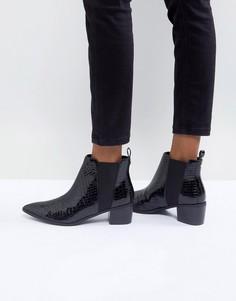 Ботинки на каблуке Miss KG - Черный