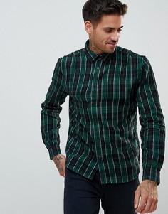 Рубашка в клетку Religion - Зеленый