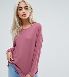 Свободная футболка ASOS PETITE - Розовый