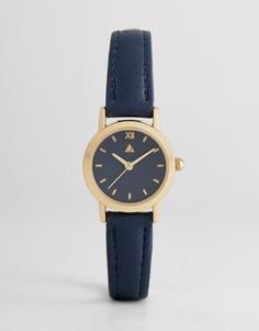 Темно-синие часы ASOS - Темно-синий