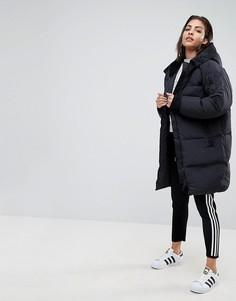 Черный бомбер adidas Originals - Черный