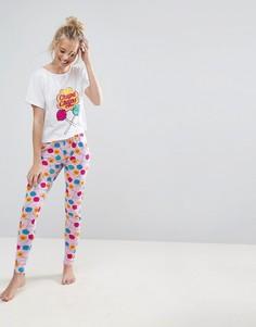 Пижамный комплект с леггинсами ASOS - Мульти