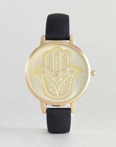 Часы с хамсой ASOS - Черный