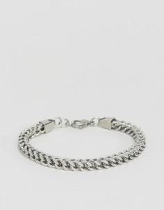 Серебристый браслет-цепочка Seven London - Серебряный