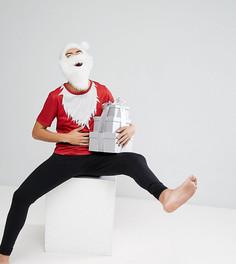 Новогодний пижамный комплект SSDD Santa - Красный
