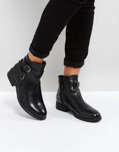 Ботинки с пряжкой Park Lane - Черный