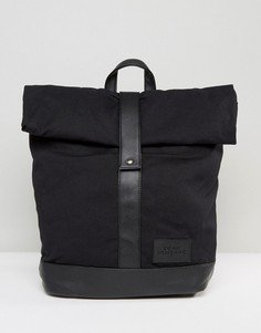 Черный рюкзак с закатанным верхом Dead Vintage - Черный