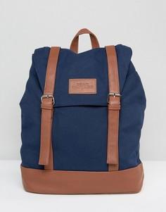 Темно-синий рюкзак с пряжками Dead Vintage - Синий