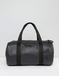 Черная полиуретановая сумка дафл Systvm - Черный