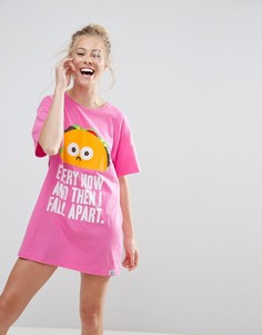 Футболка для сна Every Now and Then I Fall Apart ASOS - Мульти