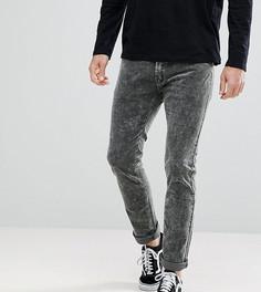 Эластичные вельветовые брюки Liquor N Poker - Черный