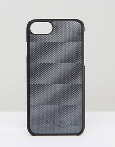 Чехол для iPhone 7 Knomo - Серебряный