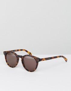 Круглые солнцезащитные очки Marc By Marc Jacobs - Коричневый
