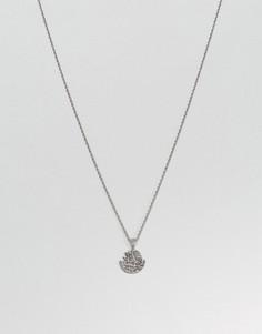 Серебристое ожерелье Mister - Серебряный