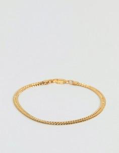 Золотистый браслет Mister Serpentine - Золотой