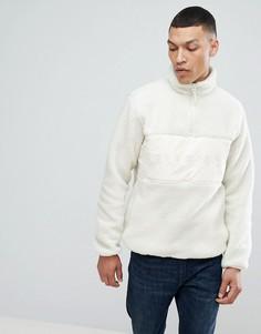 Куртка из мягкого флиса с молнией до груди Bellfield - Кремовый