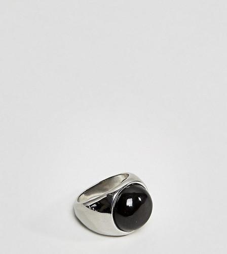 Кольцо с черным овальным камнем Reclaimed Vintage Inspired эксклюзивно для ASOS - Мульти
