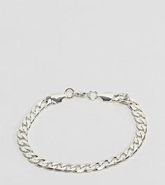 Серебристый браслет-цепочка с крупными звеньями Reclaimed Vintage Inspired эксклюзивно для ASOS - Серебряный