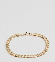 Золотистый браслет-цепочка с крупными звеньями Reclaimed Vintage Inspired эксклюзивно для ASOS - Золотой