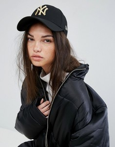 Черная кепка New Era - Черный