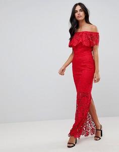 Платье макси Paper Dolls - Красный