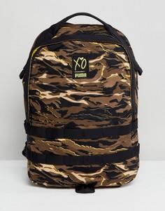 Рюкзак с камуфляжным принтом Puma x XO 07529702 - Зеленый