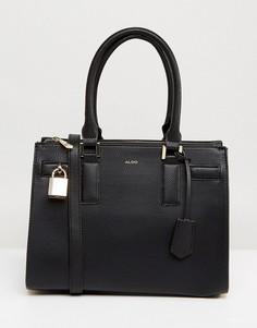 Структурированная сумка-тоут с ручкой ALDO - Черный