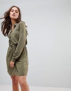 Платье-рубашка Pepe Jeans - Зеленый