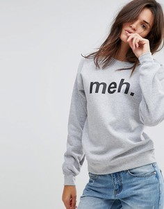 Свитшот Adolescent Clothing Meh - Серый