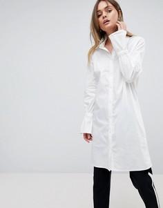 Длинная рубашка с расклешенными рукавами Vila - Белый